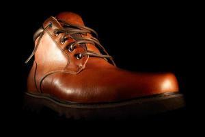 sapatos marrons de inverno