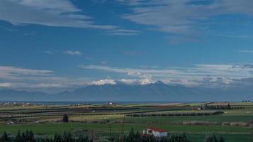 kallikrateia, grécia, 2020 - terras agrícolas durante o dia