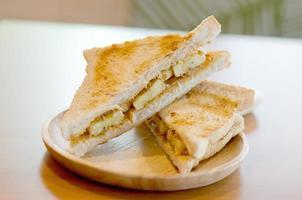 recheio de pão de banana