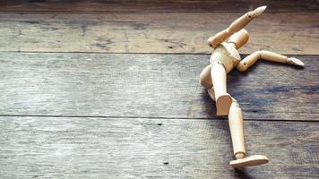 modelo de estudo de figura de madeira