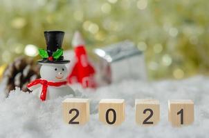 2.021 blocos com cena de natal foto