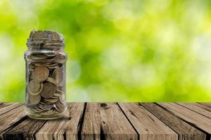 jarra de moedas