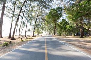 estrada à beira-mar foto