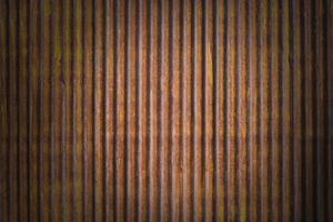 fundo de parede de textura de zinco grunge marrom foto