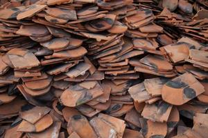 fragmentos de um telhado foto