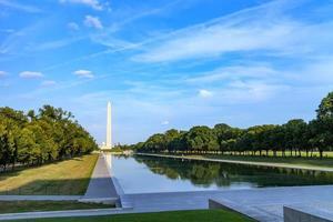 monumento de washington em washington dc, eua foto