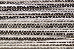 textura de caixa de papel marrom plana foto