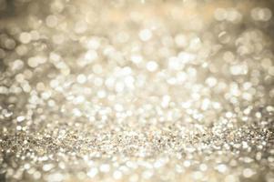 bokeh glitter dourado foto