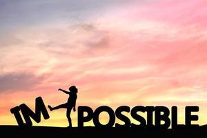 tornando impossível possível