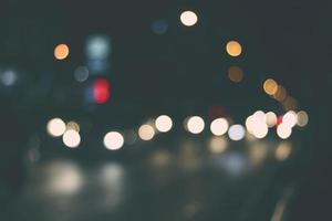 bokeh de luzes foto