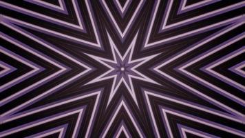 Ilustração 3D do caleidoscópio de formas coloridas para o fundo ou papel de parede