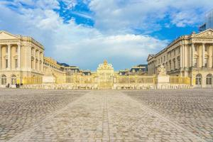 o palácio de Versalhes na França foto