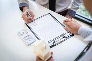 discussão de contrato de seguro