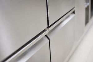 detalhe de aço inoxidável
