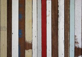 madeira pintada velha foto