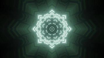 Projeto da ilustração 3D do caleidoscópio colorido para o fundo ou papel de parede foto