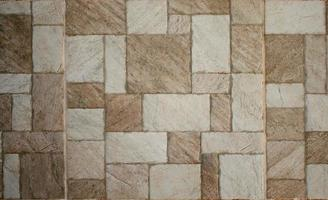 textura de mosaico de mármore-pedra marrom foto