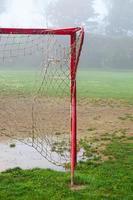 poste da baliza de futebol