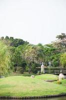 gramado no parque