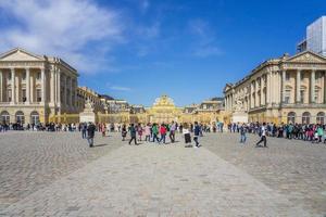 o palácio de Versalhes na França