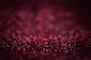 brilho vermelho e roxo e fundo bokeh foto