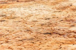um solo seco