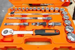 caixa de ferramentas de perto