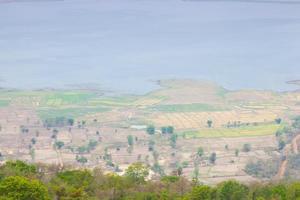 ponto de vista no topo da montanha foto