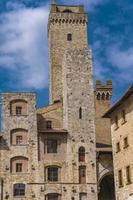 San Gimignano na Toscana, Itália foto
