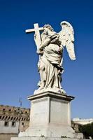 castelo sant angelo em roma, itália foto