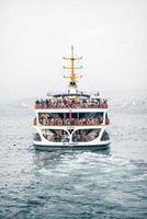 foto de navio de cruzeiro no mar