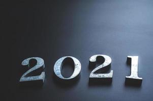 números de metal 2021 foto