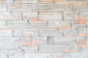textura de parede de tijolo de decoração foto