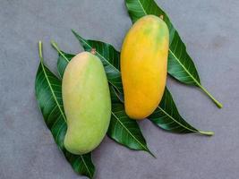fruta fresca de manga foto