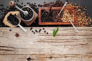 café com cópia espaço
