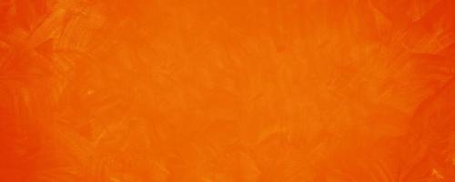 fundo de parede de textura de cimento laranja escuro foto