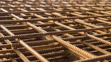 visão detalhada do ferro de construção