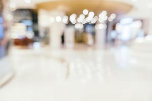 interior borrado abstrato de shopping