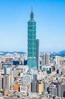 torre taipei 101 em taipei city, taiwan foto