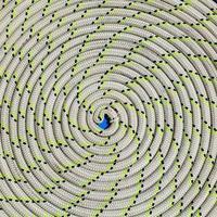 close-up de uma corda foto