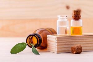 óleos essenciais naturais foto