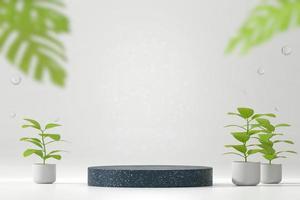 maquete de plataforma de pódio de palco para exibição de produto
