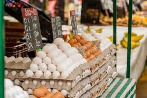 ovos no mercado