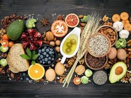 ingredientes de dieta saudável foto