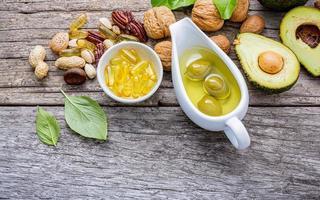 fontes alimentares de ômega 3 saudáveis foto