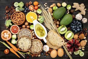 comida orgânica saudável