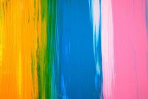 pintura acrílica colorida abstrata foto