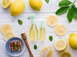 ingredientes naturais para a pele foto