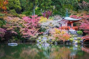 templo daigoji em kyoto, japão