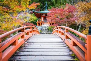 templo daigoji em kyoto, japão foto